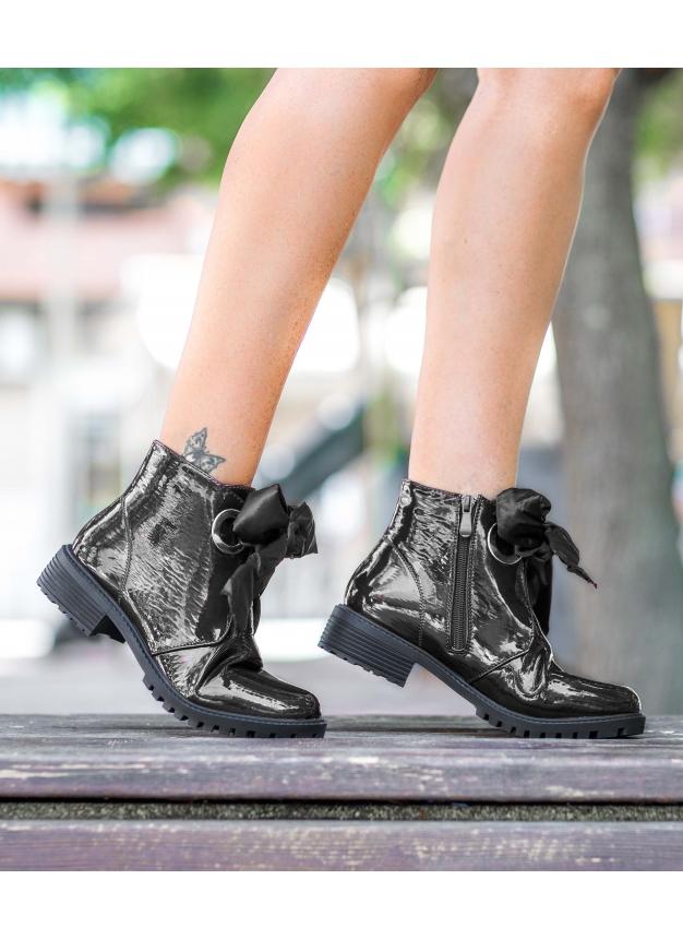 Boot Vintage - Noir