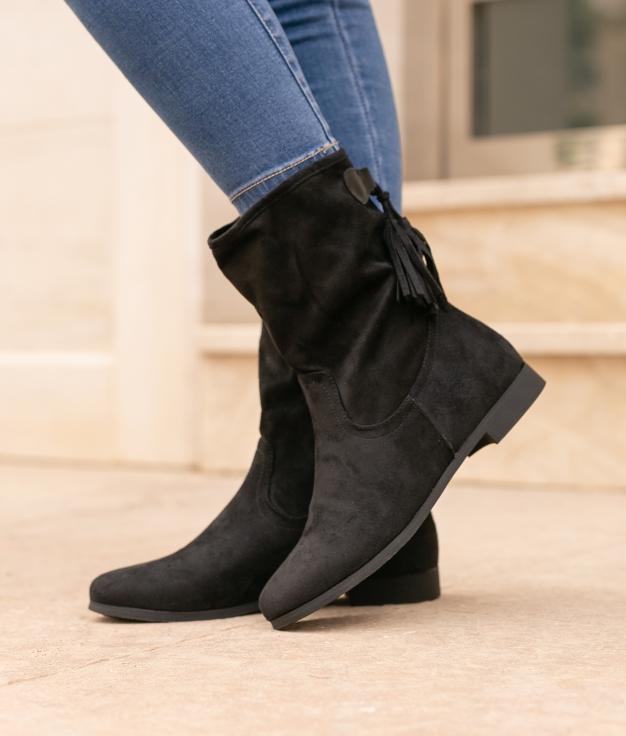 Boot Baixa Grigia - Black