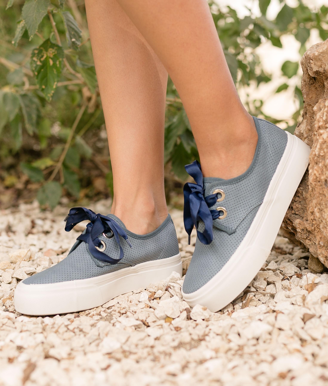 Sneakers Lan - Azul Marino