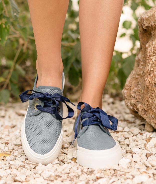 Sneakers Lan - Blu Marino