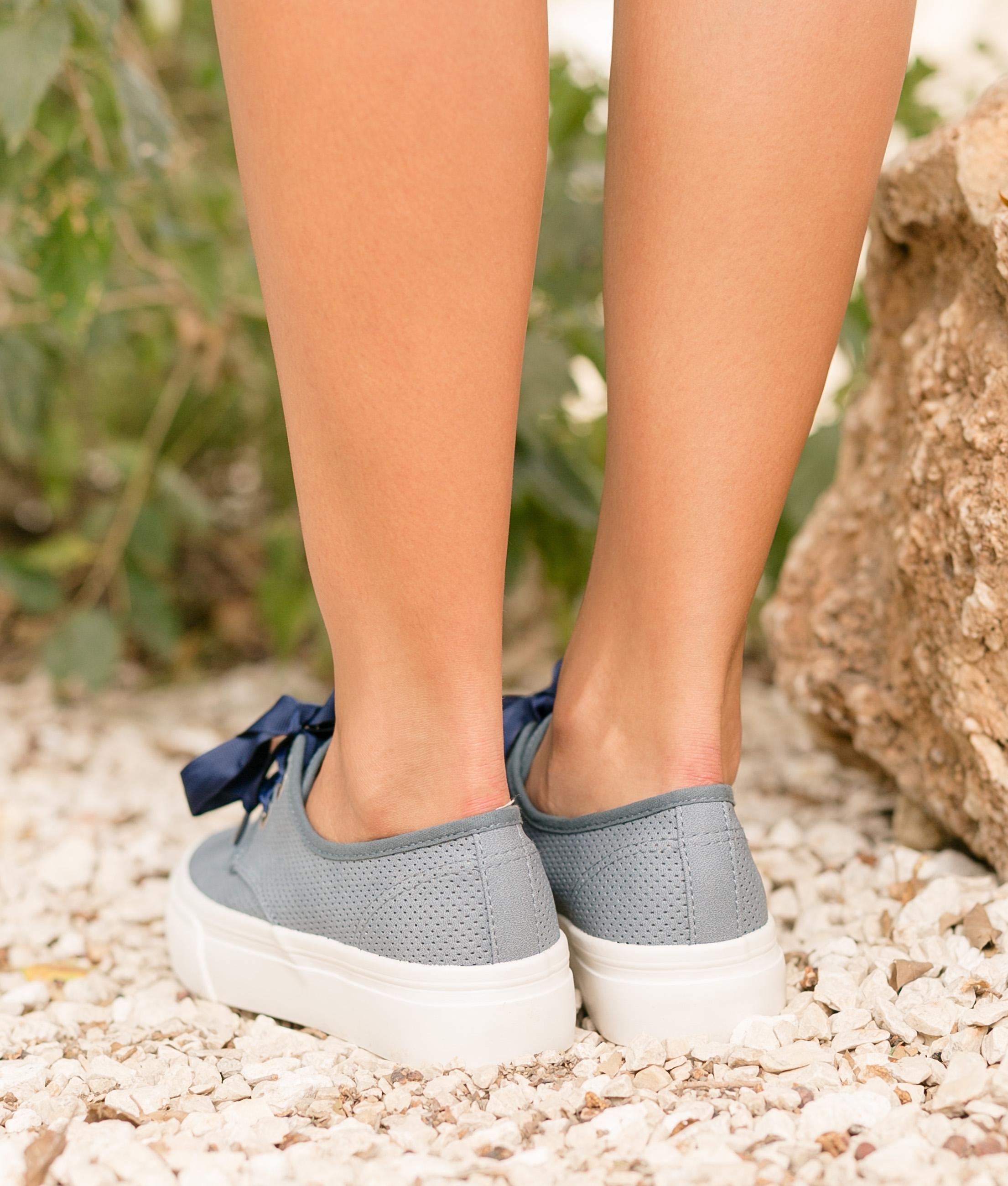 Sneakers Lan - Bleu Marine