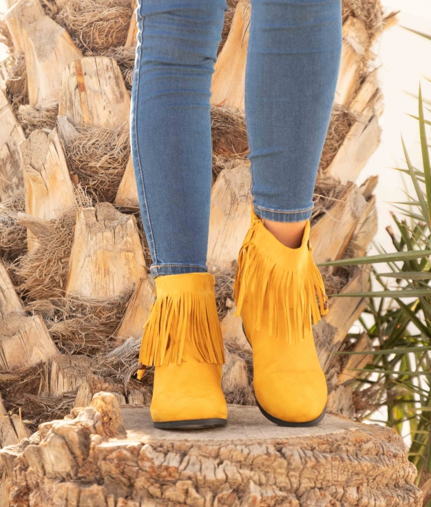 Low Boot Conson - Yellow