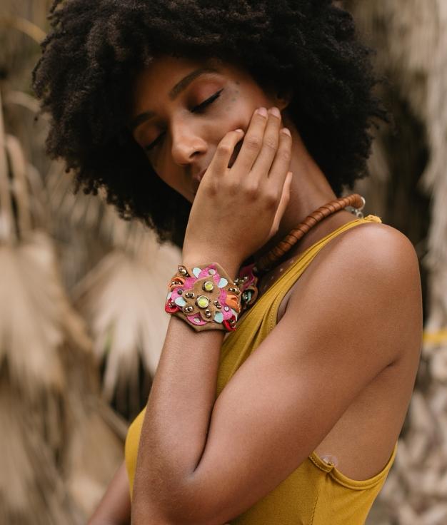 Bracelet Mossi - Bronw