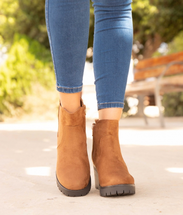 Low Boot Teval - Camel