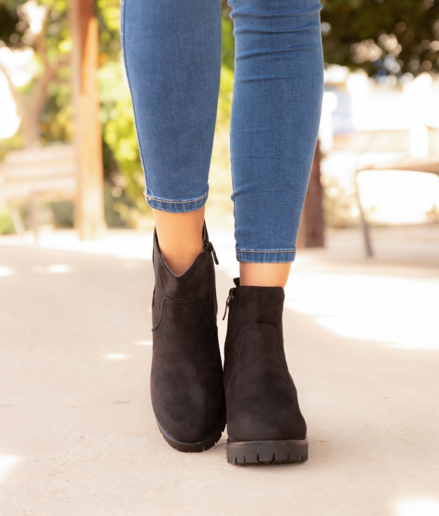 Low Boot Teval - Black
