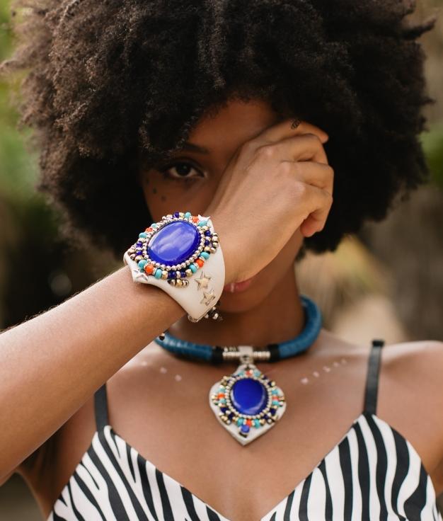 Bracelet Mossi - White