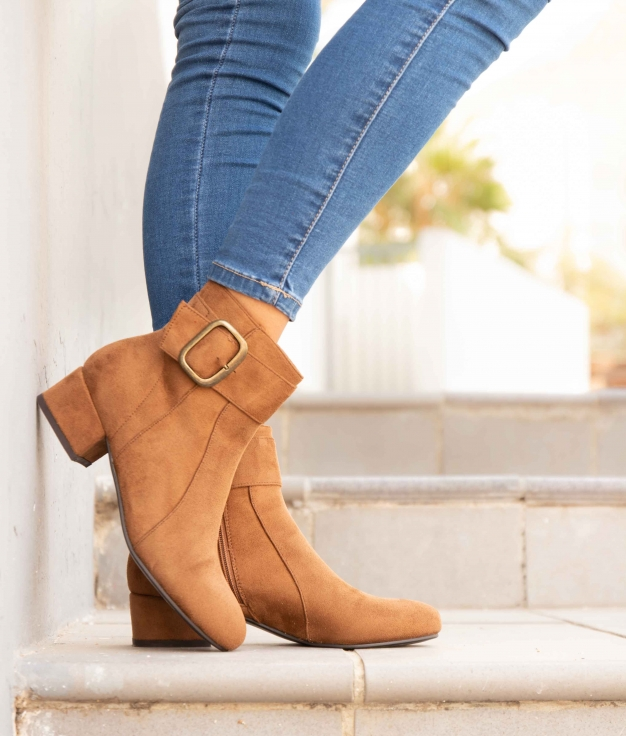 Low Boot Vige - Camel