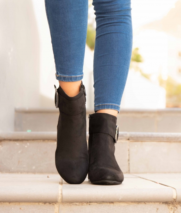 Low Boot Vige - Black