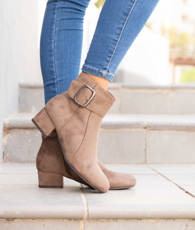 Low Boot Vige - Khaki