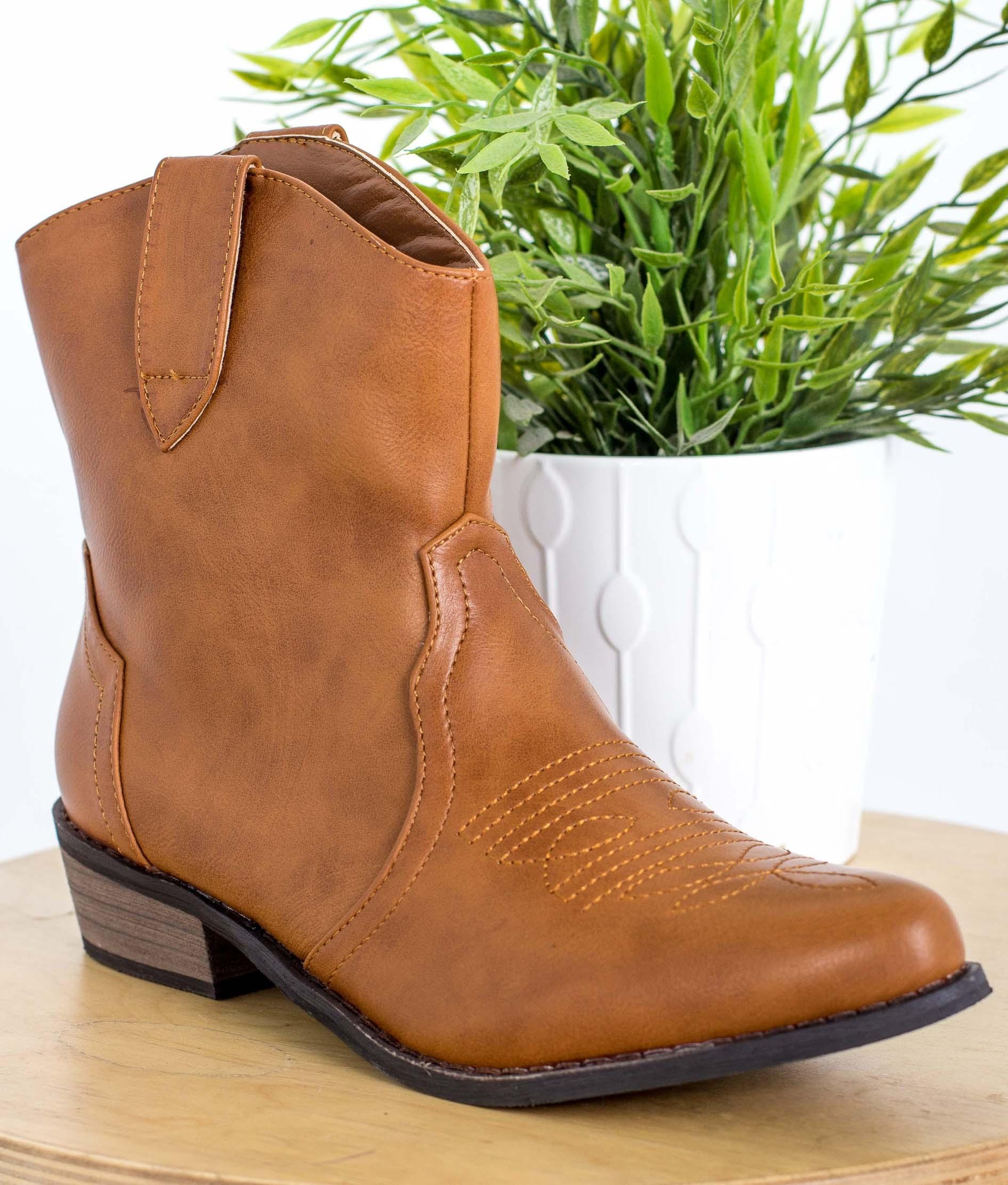 Bota Cowboy - Camel