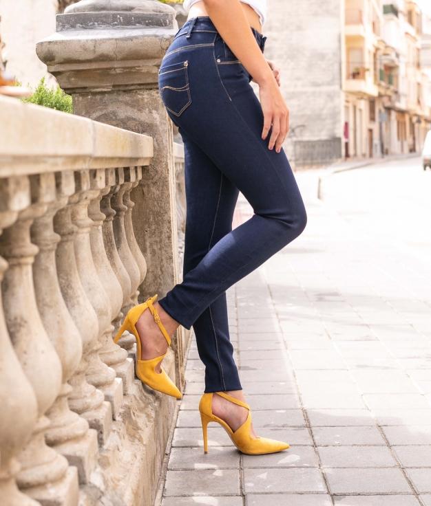 Pantalon Nicoletta - Denim Foncé