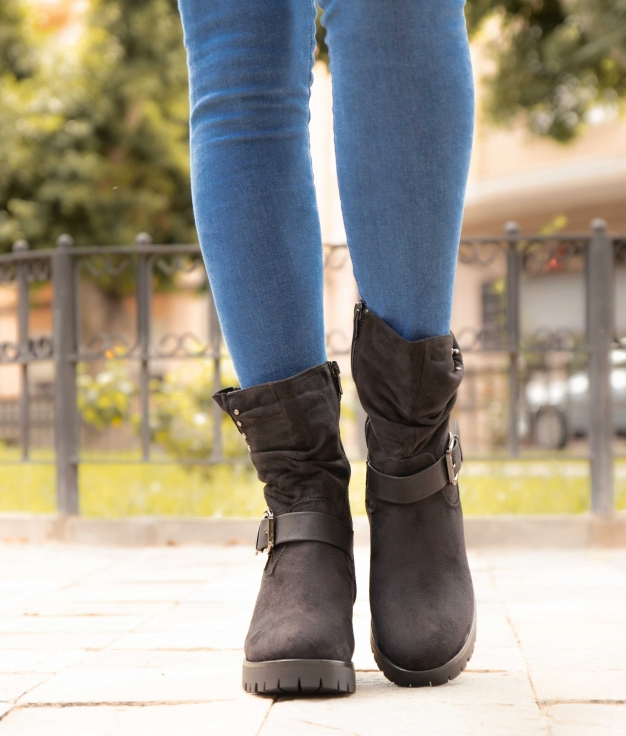 Bota Baixa Humans - Black