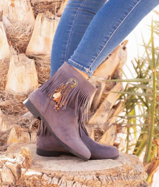 Low Boot Conson - Grey
