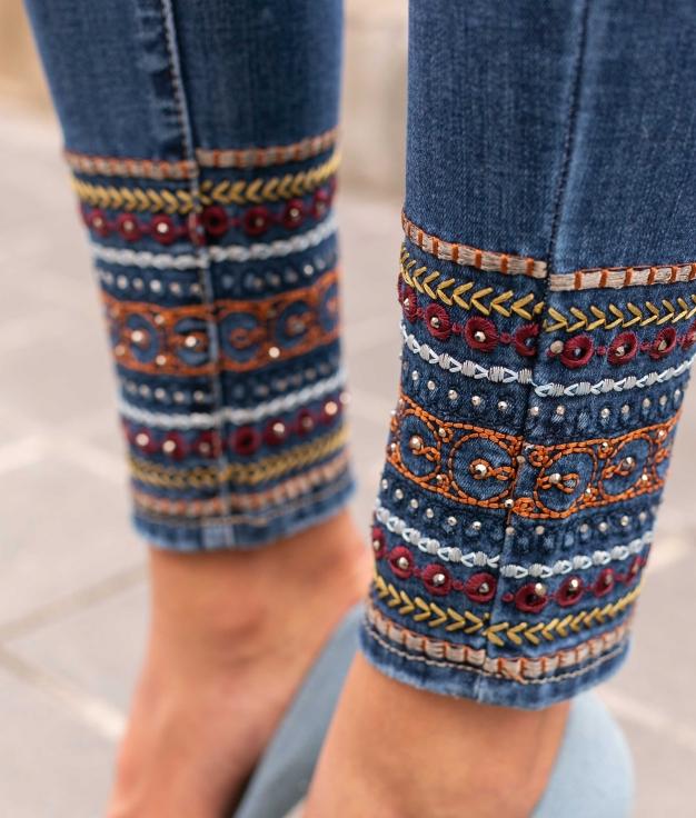Pantaloni Nikebi - Denim