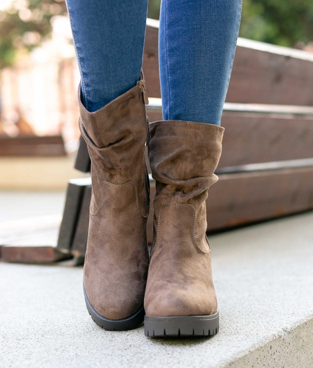 Low Boot Idoxa - Khaki