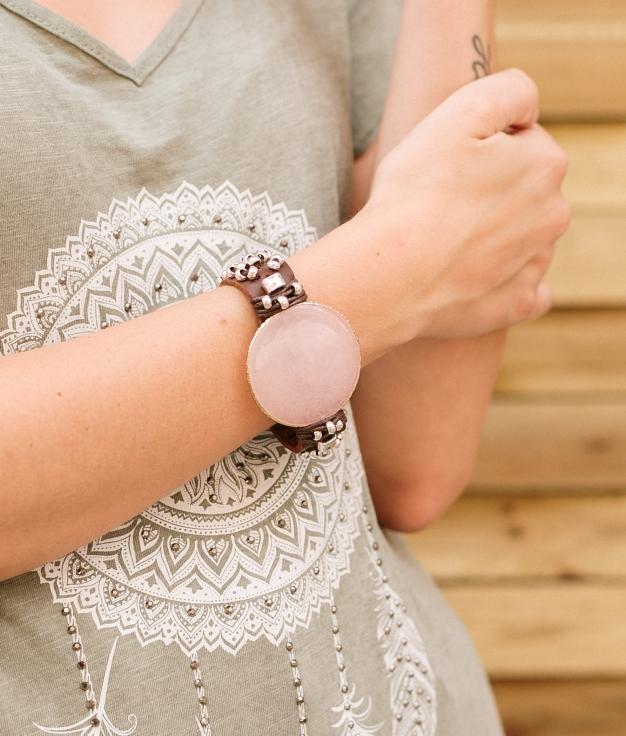 Bracelet Sora - Rose
