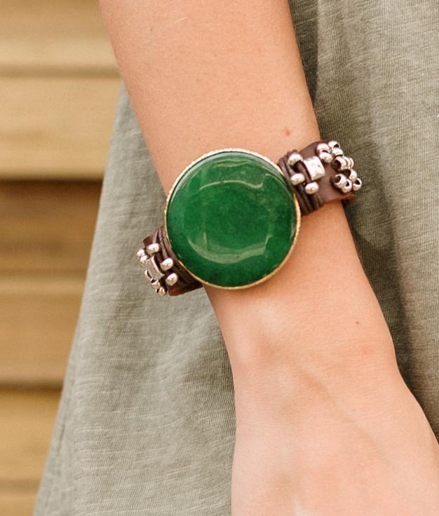 Bracelet Sora - Vert