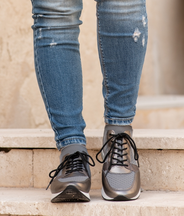 Sneakers Auro - Grigio