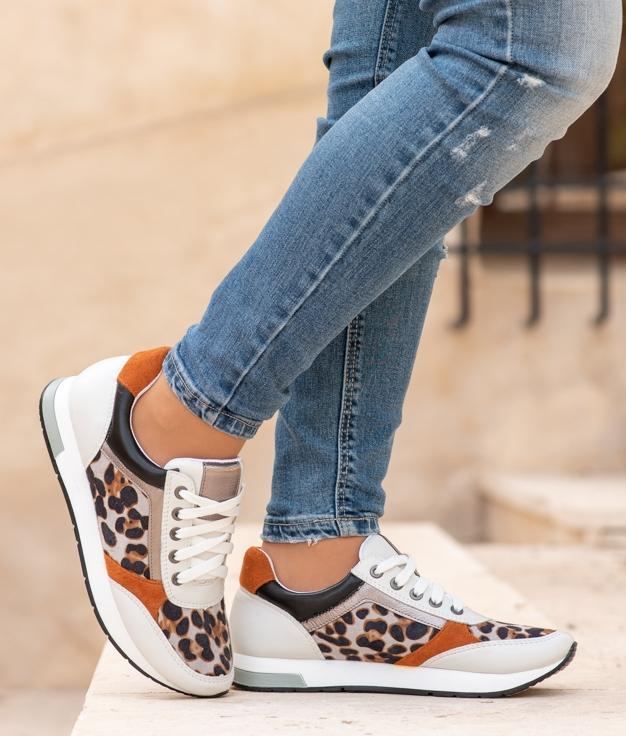 Sneakers Deop - Leopard