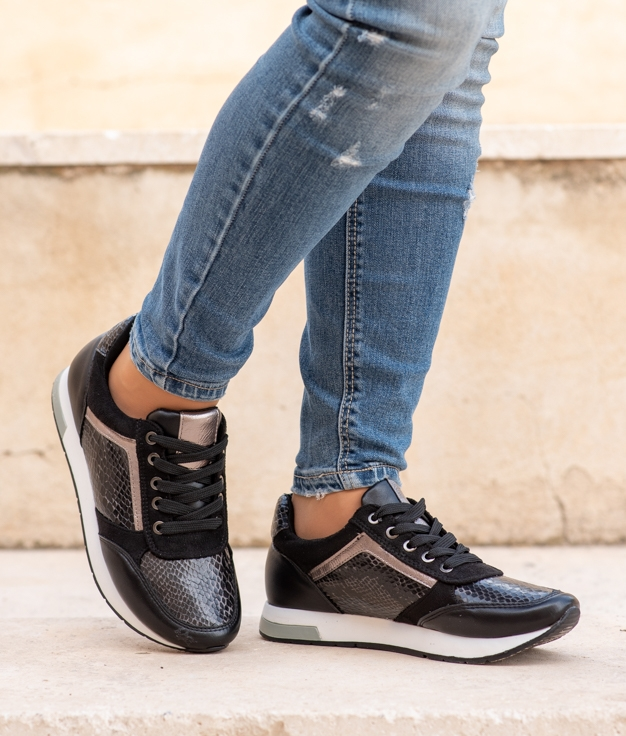Sneakers Deop - Preto