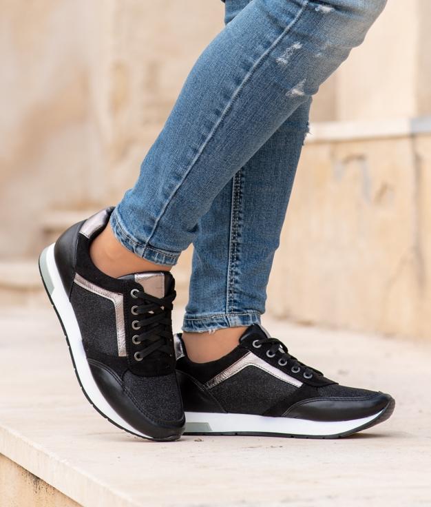 Sneakers Halize - Preto
