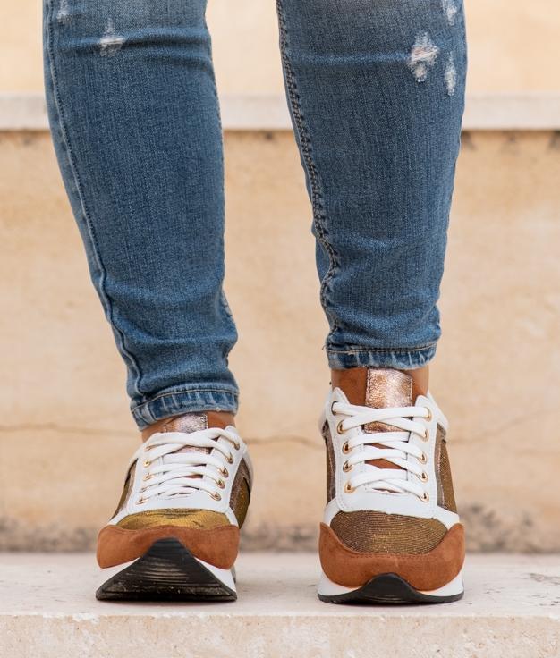 Sneakers Halize - Golden