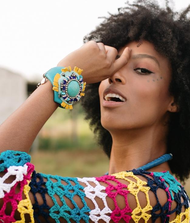 Bracelet Ayana - Bleu