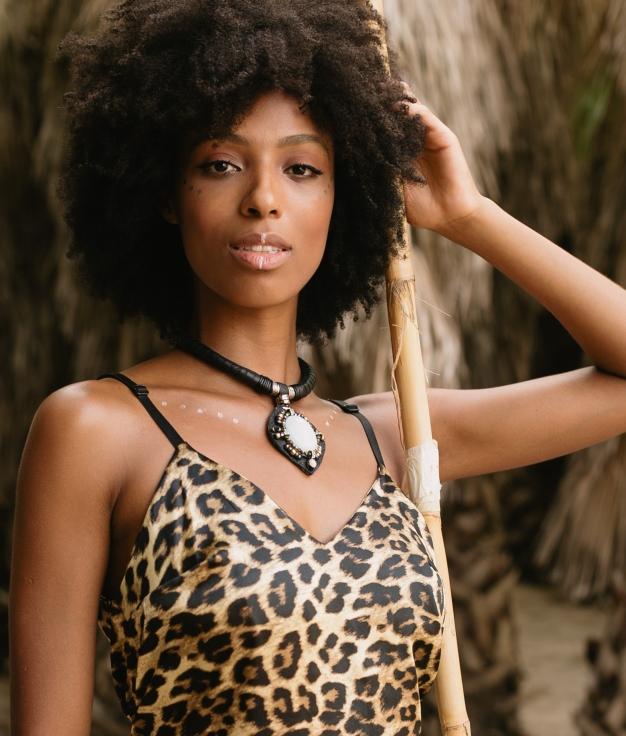 Necklace Kalesy - Black