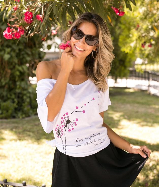 Camiseta Imperfect - Branco