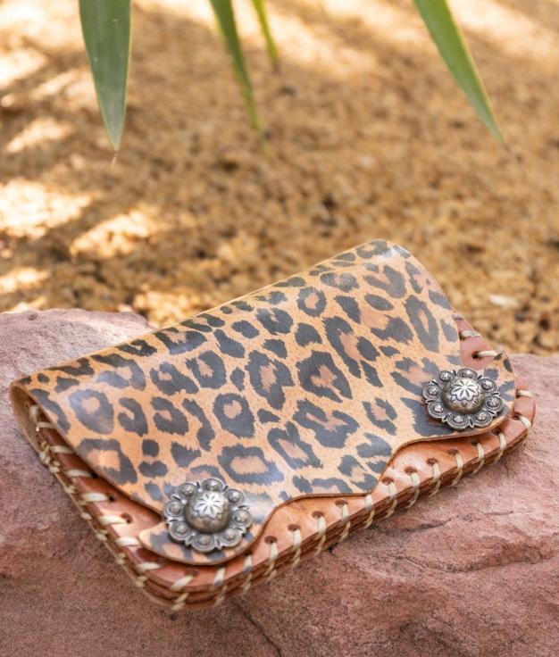 Carteira Piret - Leopardo