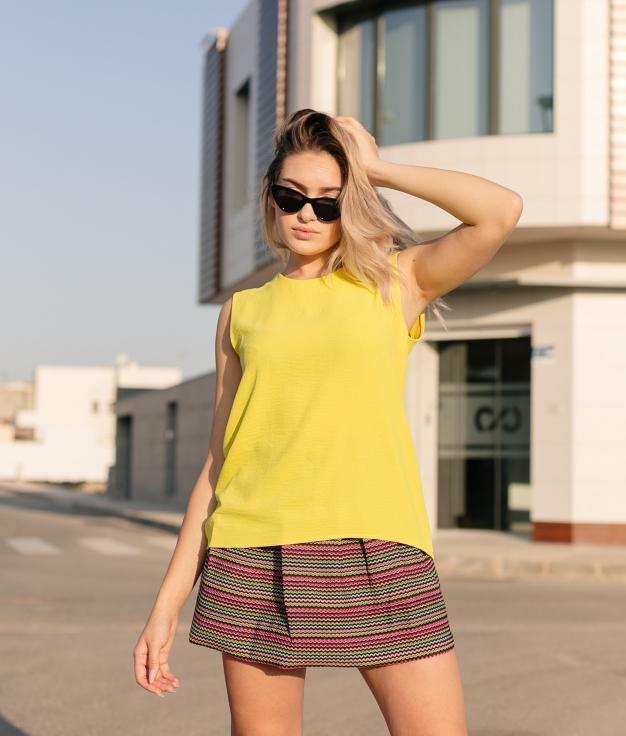 Blusa Kena - Amarelo