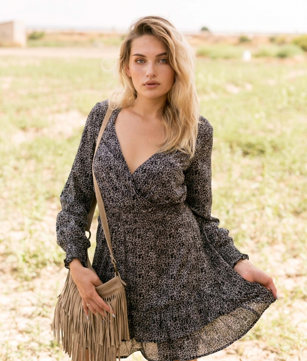 Dress Ajmer - Black