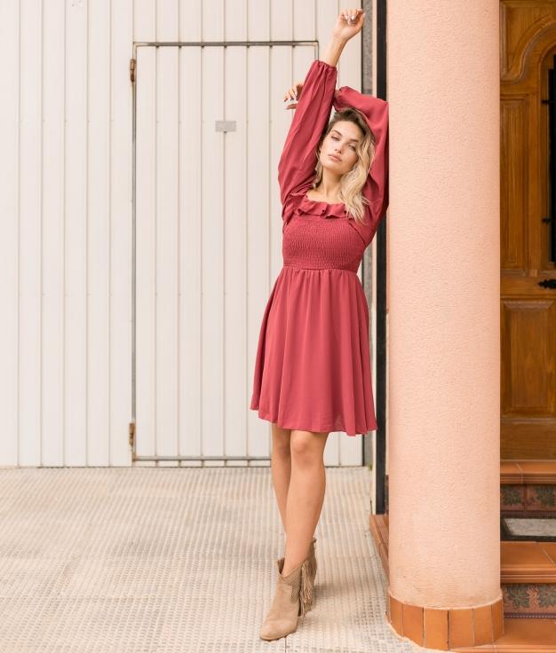 Vestido Jafran - Rosa