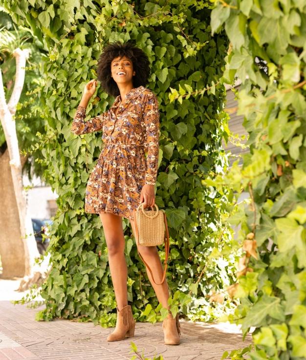 Dress Raipur - Brown