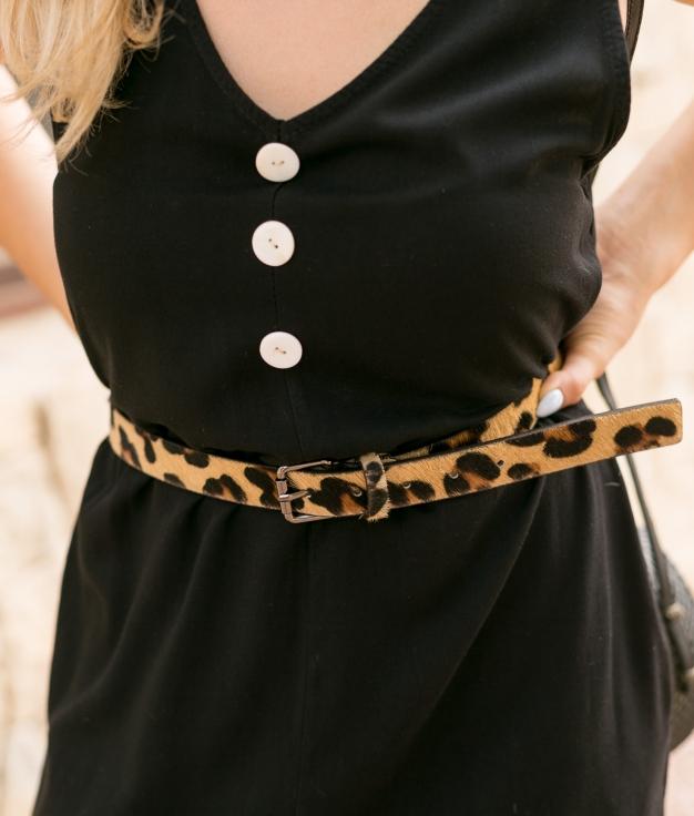 Cinturón Minti - Leopardo
