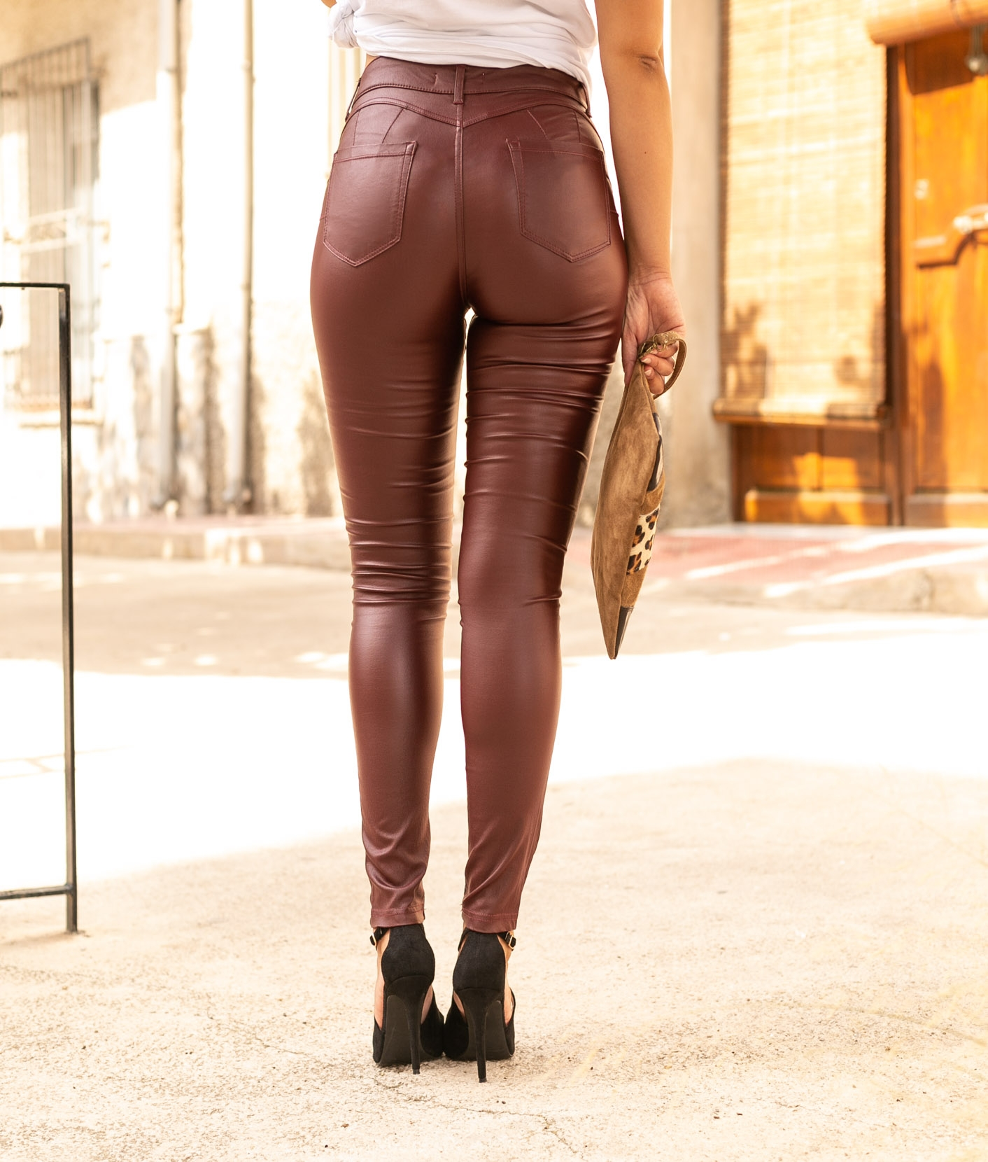 Trousers Lind - Maroon