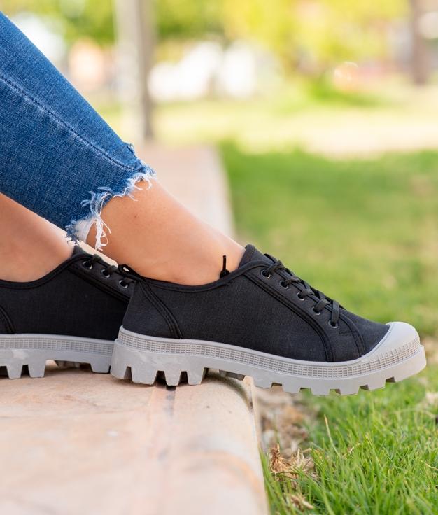Sneakers Yuca - Negro