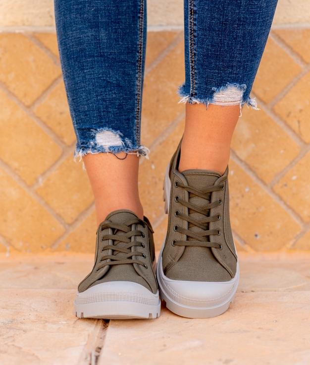Sneakers Yuca - Khaki