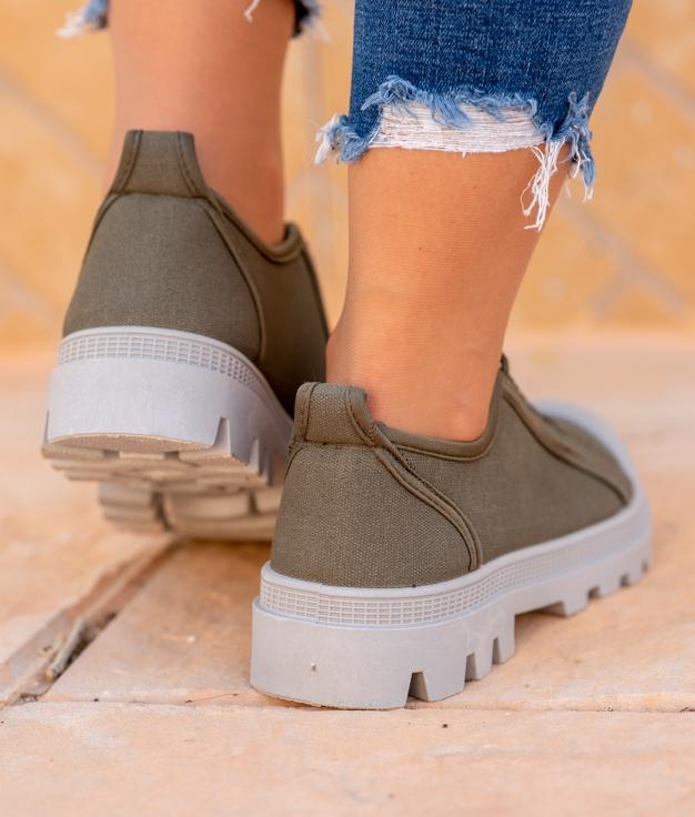 Sneakers Yuca - Kaki