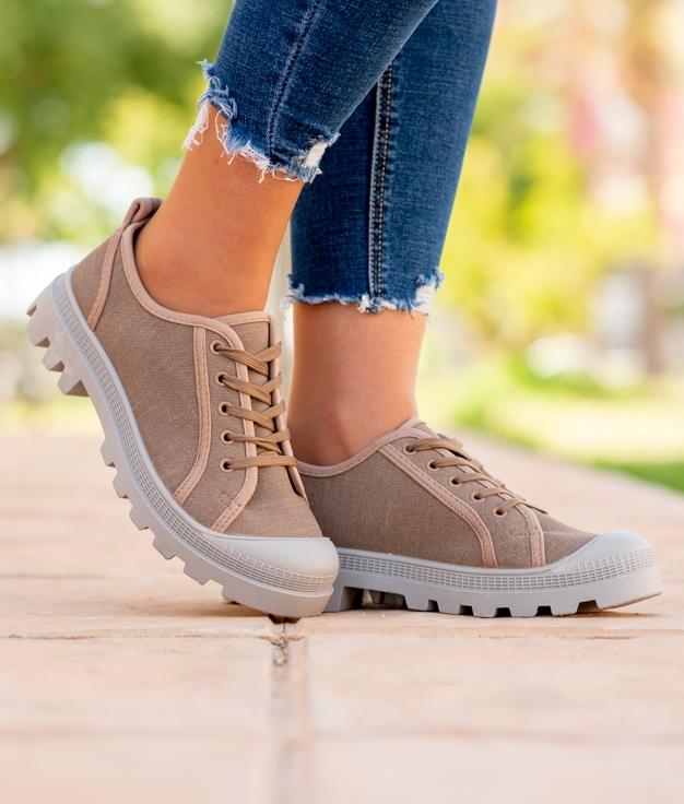 Sneakers Yuca - Taupe
