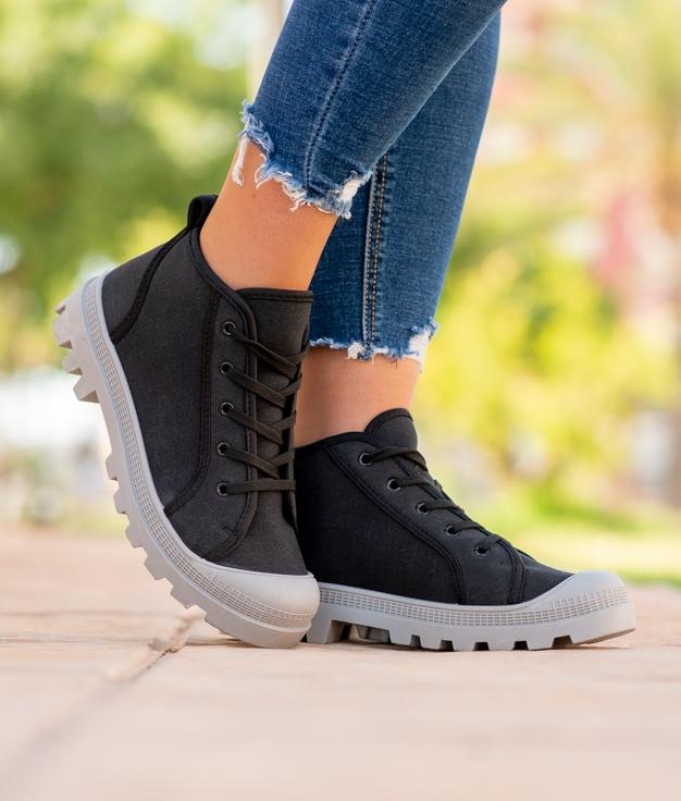 Sneakers Binse - Nero