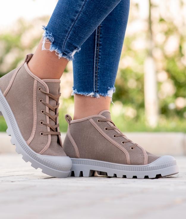 Sneakers Binse - Taupe