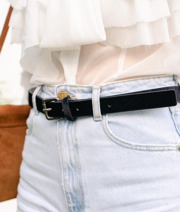 Cinturón Minti - Negro