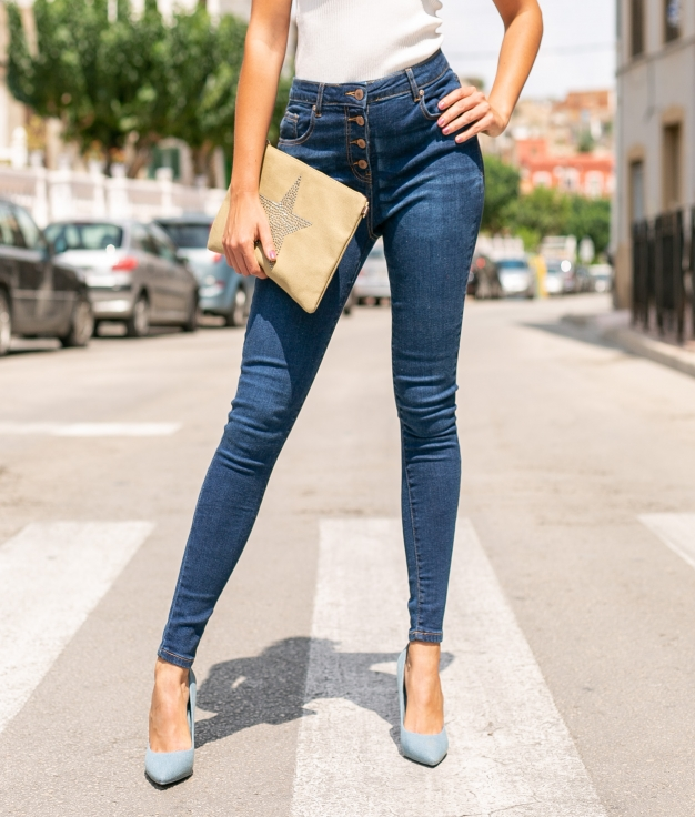 Pantalon Perin - Denim