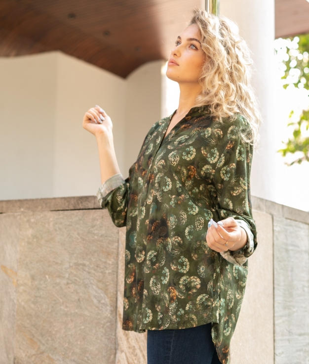 Camisa Sarabi - Verde