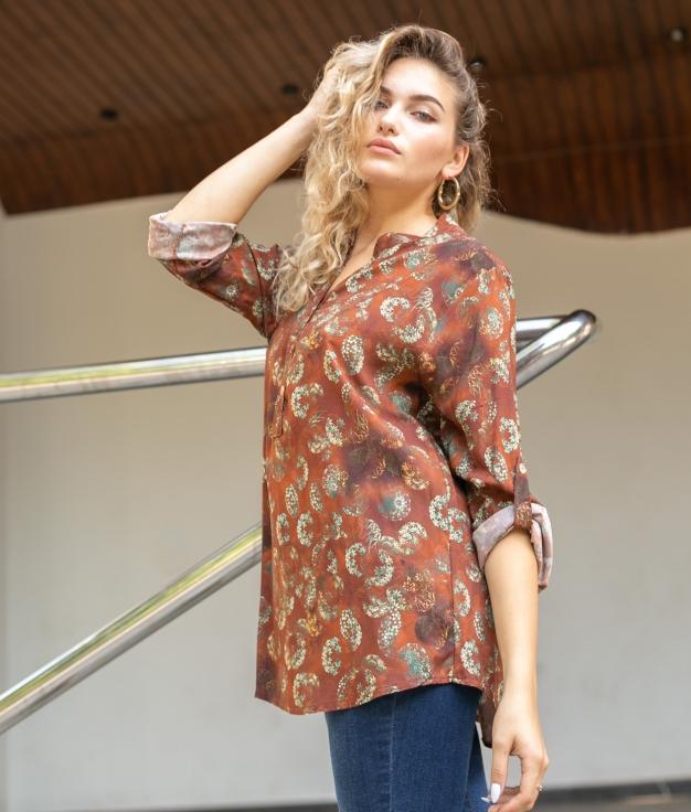 Shirt Sarabi - Brick Red