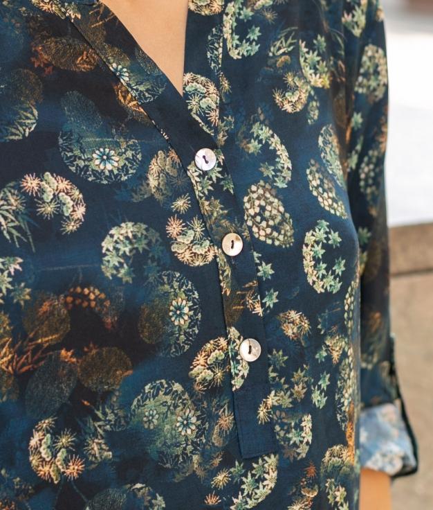 Camisa Sarabi - Azul