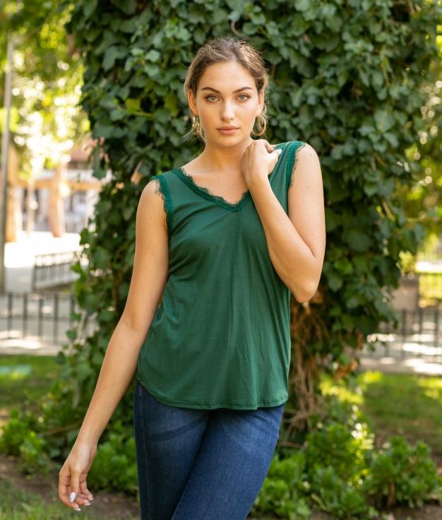 Shirt Mirlo - Vert