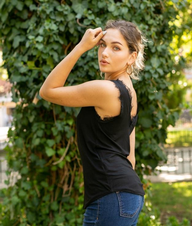 T-shirt Mirlo - Black