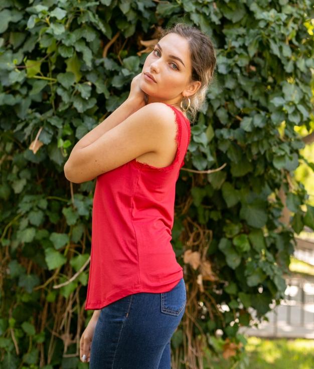 Shirt Mirlo - Rouge